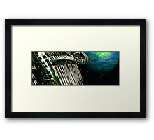 The Flight Across the Three Universes #7 - Fortune's Landing Framed Print