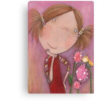 Flower Child Jenny Canvas Print