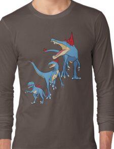 Pokesaurs - Totodilian Evolution Long Sleeve T-Shirt