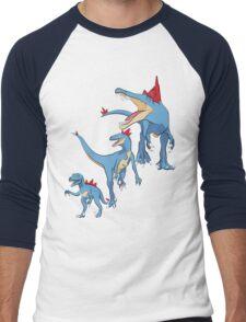 Pokesaurs - Totodilian Evolution Men's Baseball ¾ T-Shirt