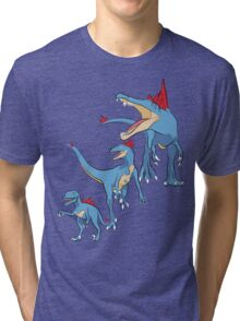 Pokesaurs - Totodilian Evolution Tri-blend T-Shirt