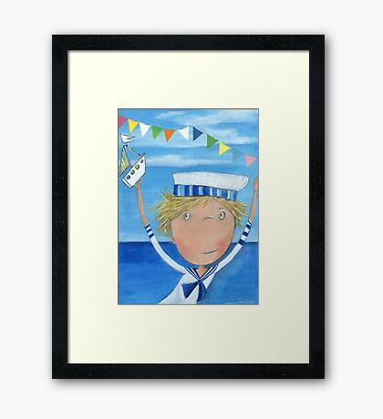 Sailor Fyn Framed Print