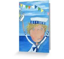 Sailor Fyn Greeting Card