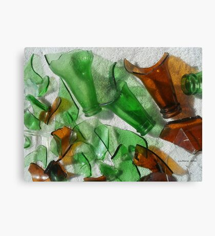 Glass... Canvas Print