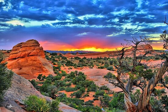 Arches National Park Sunset by Gregory Ballos | gregoryballosphoto.com
