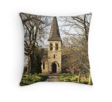St Mary's Church, Sand Hutton Throw Pillow