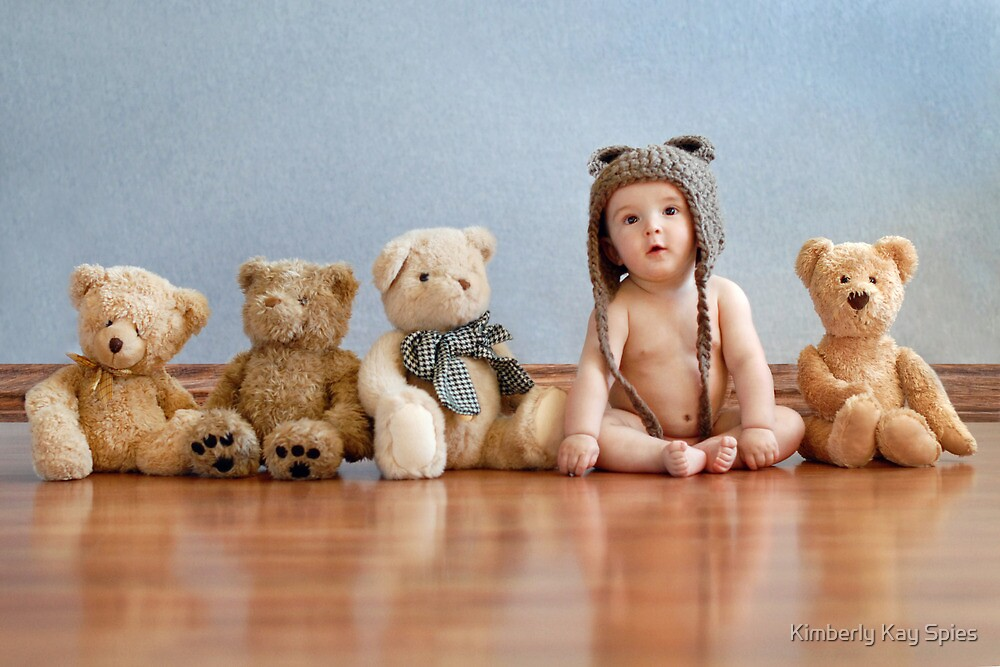 Teddy bear's by Kimberly Kay Spies