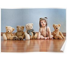 Teddy bear's Poster