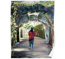 Quinta da Regaleira - a pathway Poster