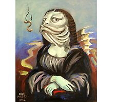 Mona Lisa (as a fish) Photographic Print