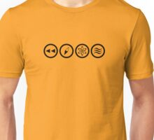 Reverse the Polarity - Black Unisex T-Shirt
