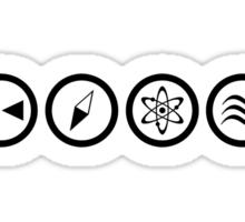 Reverse the Polarity - Black Sticker