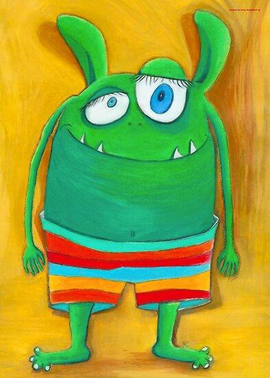 Mrs. Monster by Malerin Sonja Mengkowski