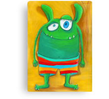 Mrs. Monster Canvas Print