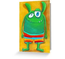 Mrs. Monster Greeting Card
