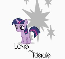 Twilight Sparkle - Love and Tolerate Unisex T-Shirt
