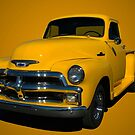 1955 Chevrolet Pickup Truck.  Early Version by TeeMack