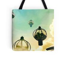 The Flight Across the Three Universes #8 - The Floating Gardens of Balresha 9 // Remembrances Tote Bag
