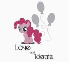 Pinkie Pie - Love & Tolerate by SoloBron3