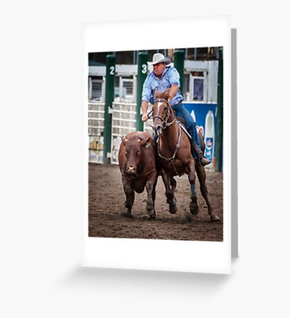 The Campdraft Greeting Card