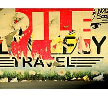 Travel! Photographic Print