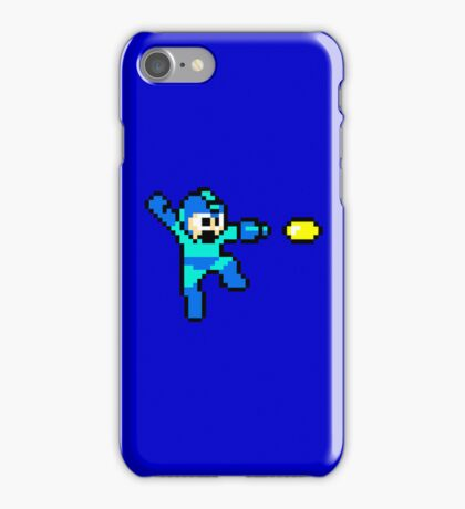 Blue Bomber iPhone Case/Skin