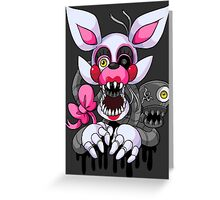 Graffiti Mangle Greeting Card