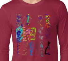 STAR SPACESHUTTLE ABSTRACT Long Sleeve T-Shirt