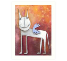 Angel Horse Art Print