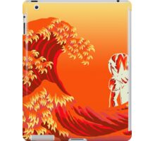 Hokusai Anger iPad Case/Skin