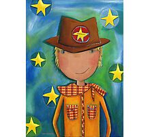 Sheriff - Cowboy Photographic Print