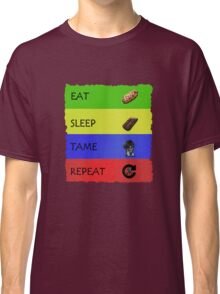 ARK EAT SLEEP TAME REPEAT Classic T-Shirt