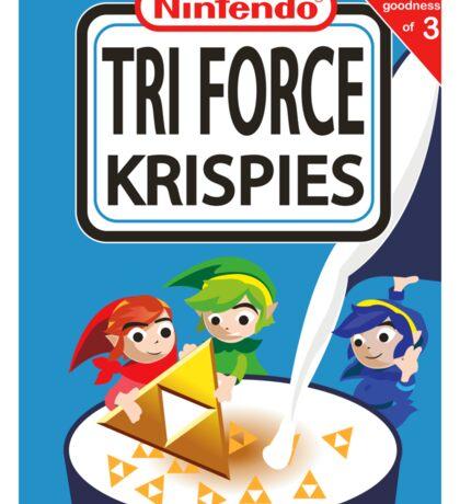 Tri Force Krispies Sticker