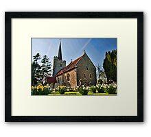 St Margarets Church, Barming Framed Print