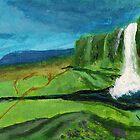 Icelandic Falls by lorileeg