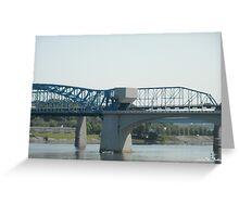 Walnut Street Bridge Greeting Card
