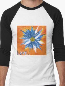 Love. Men's Baseball ¾ T-Shirt