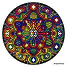 Mandala 42 Rainbow Prints, Cards &amp; Posters by mandala-jim