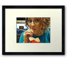 Guilty As Charged Framed Print