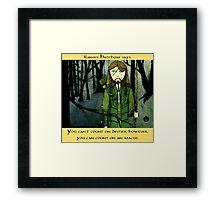 Ranger Hrothgar Says - Abacus  Framed Print