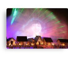 Laser Image Canvas Print
