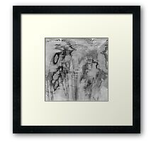 Symphony in Black and White Framed Print