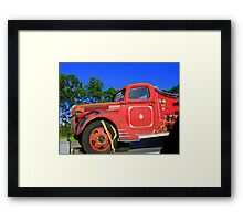 Classic Highway Framed Print