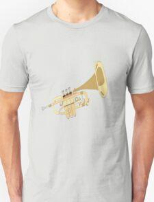 Hand Drawn Classic Trumpet T-Shirt