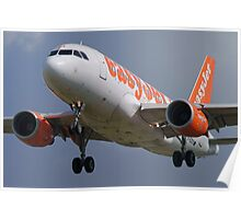easyJet G-EZDX Airbus 319-111 Poster