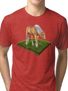 3D Horse Tri-blend T-Shirt
