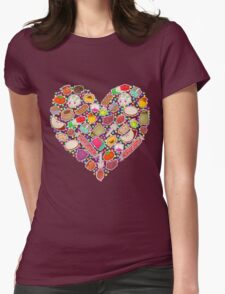 I Love Mexican Candy - Aquamarine Womens Fitted T-Shirt