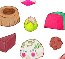 I Love Mexican Candy - Aquamarine Sticker