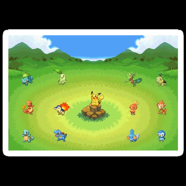 Pokemon Starters by Gerald89