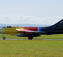 Hawker Hunter: G-PSST by Mark Kopczewski